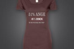 T shirt 51% fille