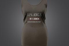 T shirt 51% singlet dame