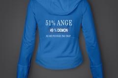 T shirt 51% sweat fille