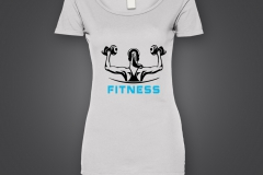 T shirt femme fitness