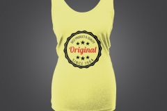 T shirt singlet dame Best product since 1964