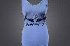 singlet dame superhero