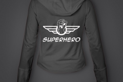 sweat dame superhero