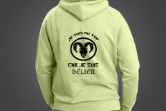 sweat homme belier