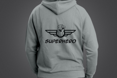 sweat homme superhero