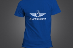 t shirt homme superhero