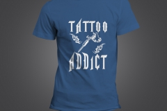 t shirt homme tattoo addict