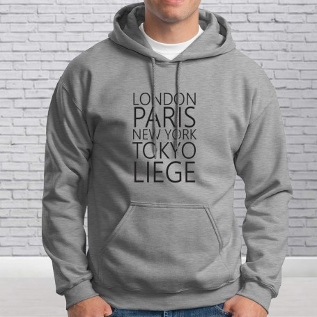 London, Paris, Liège