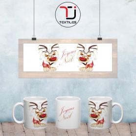 mug Rennes Joyeux Noël